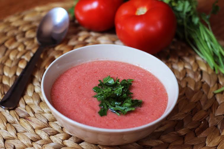 Supă Rece de Roșii