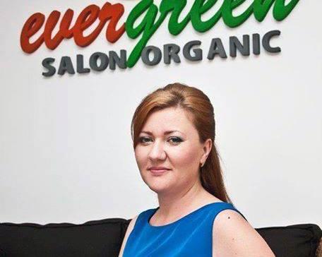 Corina Chelu (Salonului Organic EverGreen)