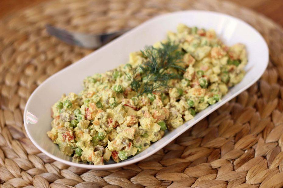 """Salată raw de """"Boeuf"""""""