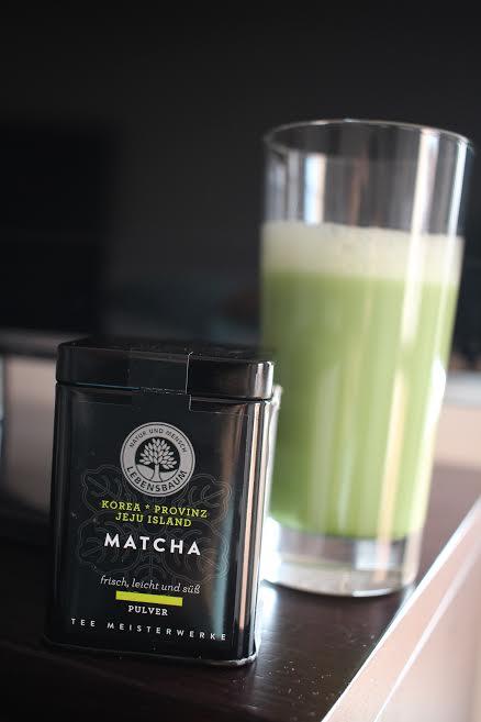 Matcha Latte (lapte de migdale)