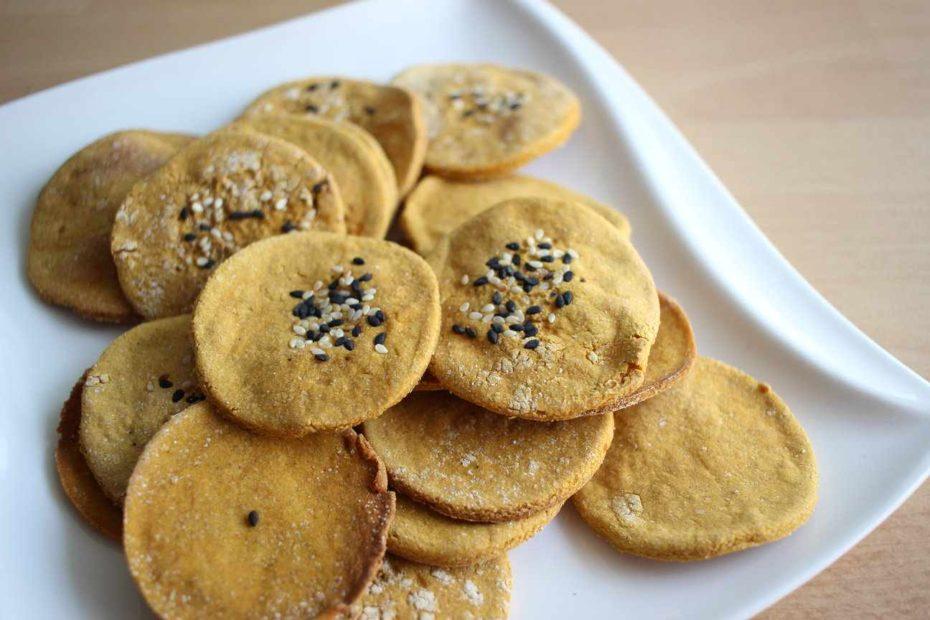 Biscuiți Crocanți din 3 ingrediente (Fără Gluten)