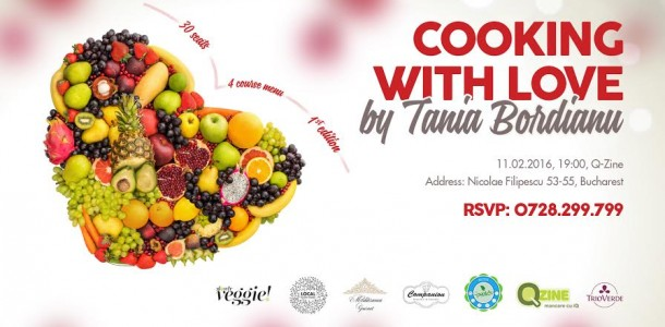 Cooking with Love by Tania Bordianu @ Q-Zine