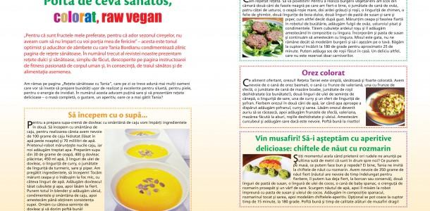 "Articol din revista ""Slab sau gras"" luna mai 2014"