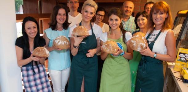 Atelier de pâine cu maia
